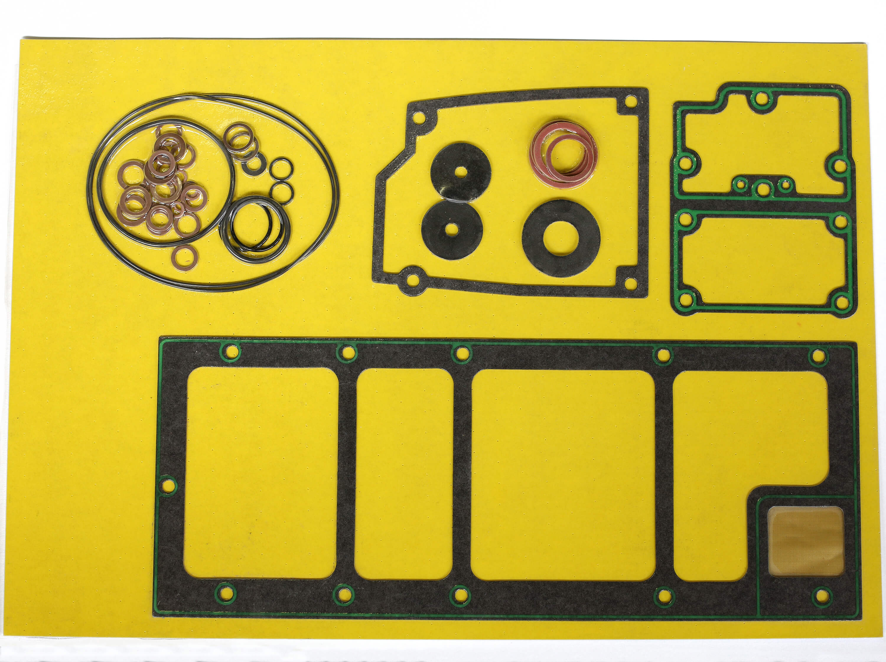 Becker vacuum pump gasket kit